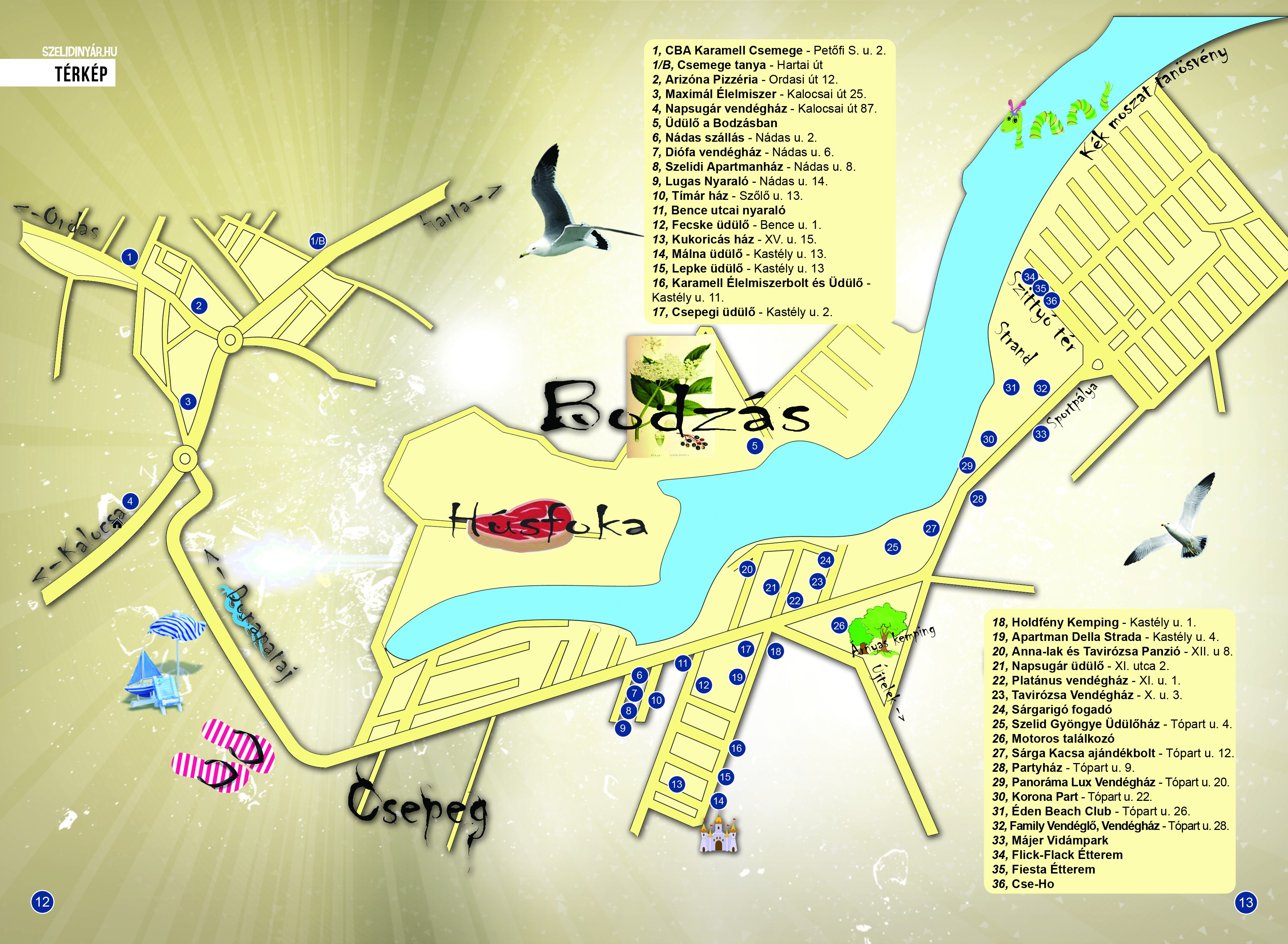 szelidi tó térkép Szelidi tó Térkép | Szelidi Nyár szelidi tó térkép