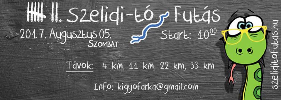 2017.08.05. – VII. Szelidi-tó futás