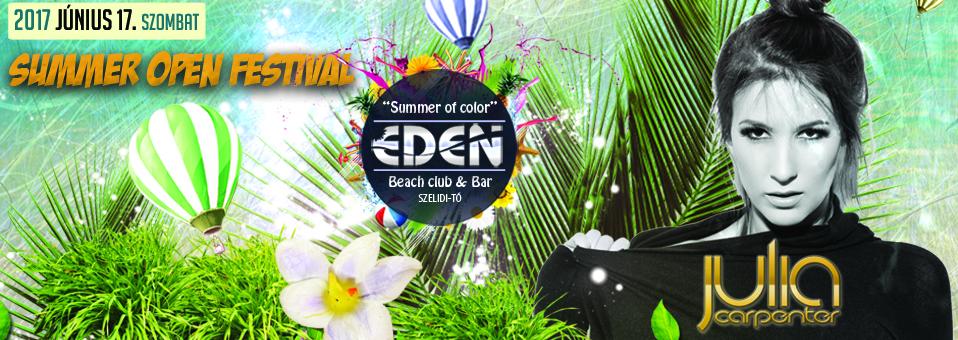 2017.06.17. – Nyárnyitó Fesztivál @ Éden Beach Club